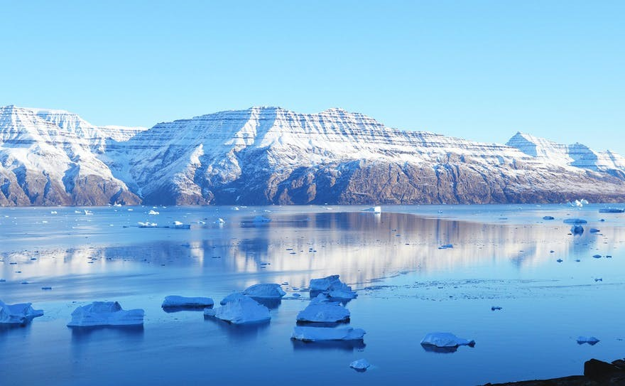 To arrive on Greenland is to be astonished by its sheer